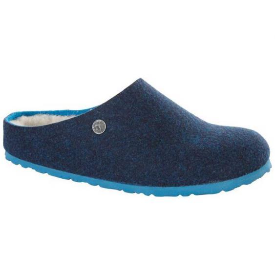 Birkenstock Kaprun Happy Lamb Doubleface Blue 1011-793 (Women's)