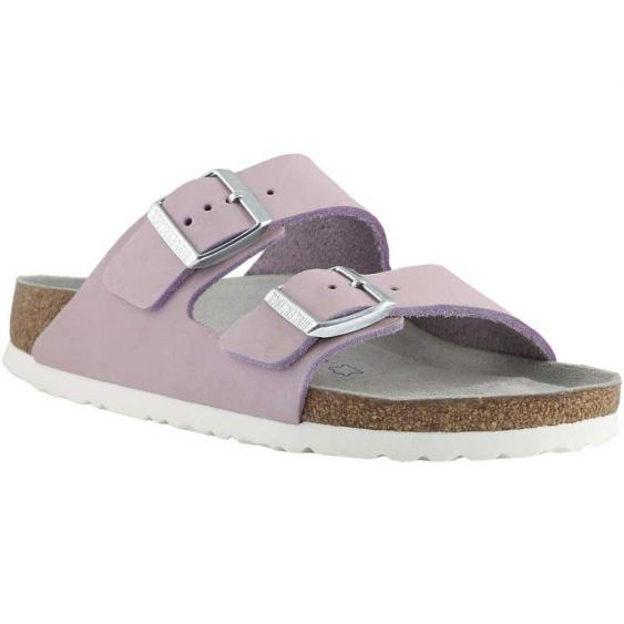 Birkenstock Arizona Soft Footbed Lilac Nubuck 1014-160 (Women's)