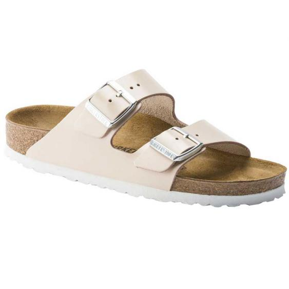 Birkenstock Arizona Natural Powder Leather 1014-175 (Women's)