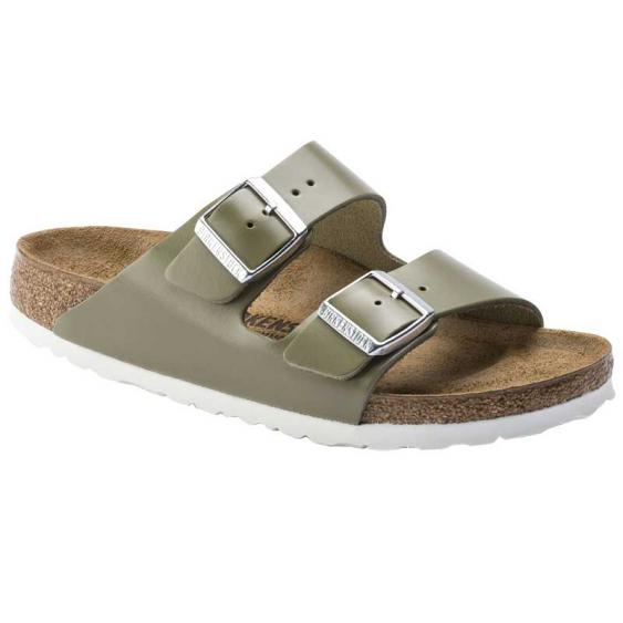 Birkenstock Arizona Khaki Leather 1014-176 (Women's)