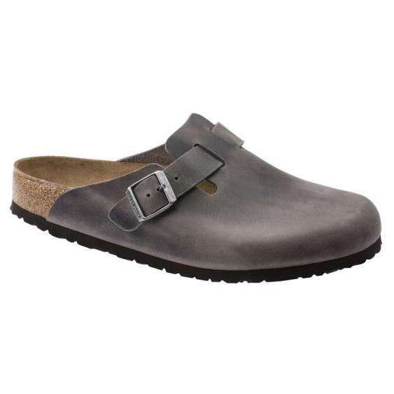 Birkenstock Boston Soft Footbed Iron 1013-255 (Women's)