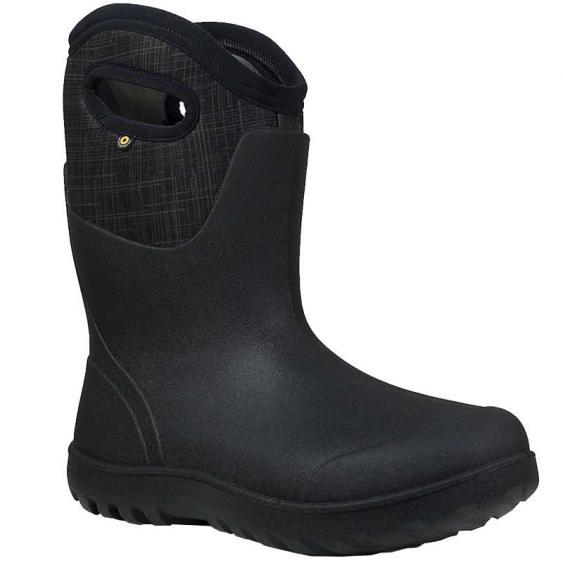 Bogs Neo-Classic Mid Linen Black Multi 72254-009 (Women's)