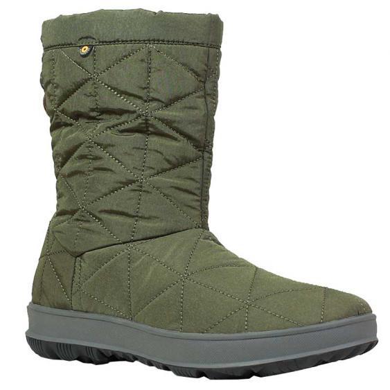Bogs Snowday Mid Dark Green 72238-301 (Women's)