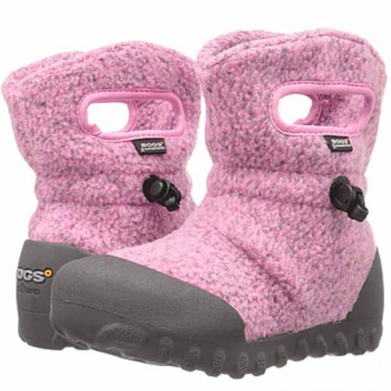 Bogs B-MOC Fleece Pink 72012K-650 (Kids)