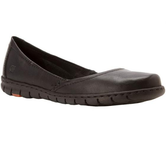 Born Reija Black Full Grain D61403 (Women's)