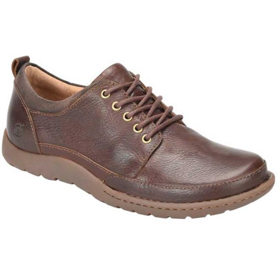 Born Nigel Tie Brown Full Grain H50506 (Men's)