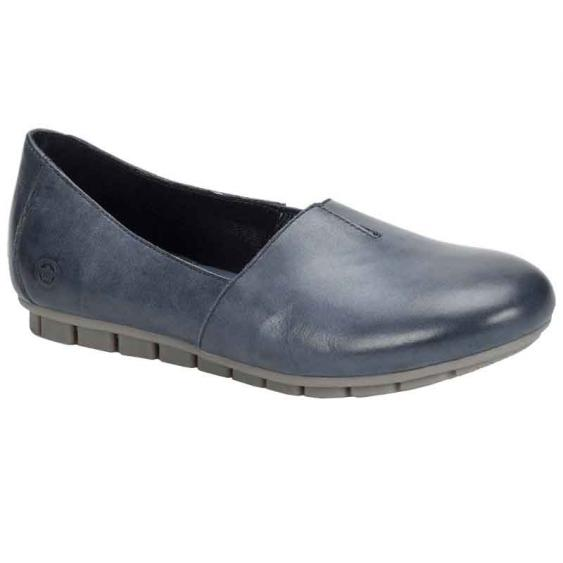 Born Sebra Navy Full Grain D74634 (Women's)