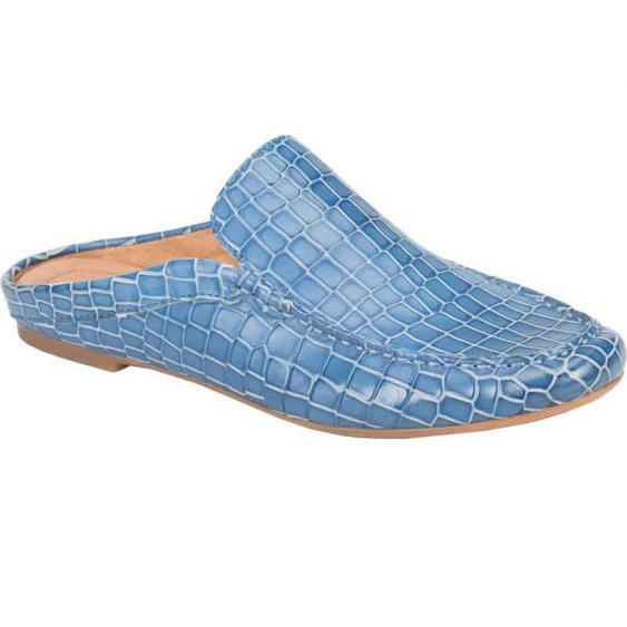 Born Capricorn Blue Croc F57704 (Women's)