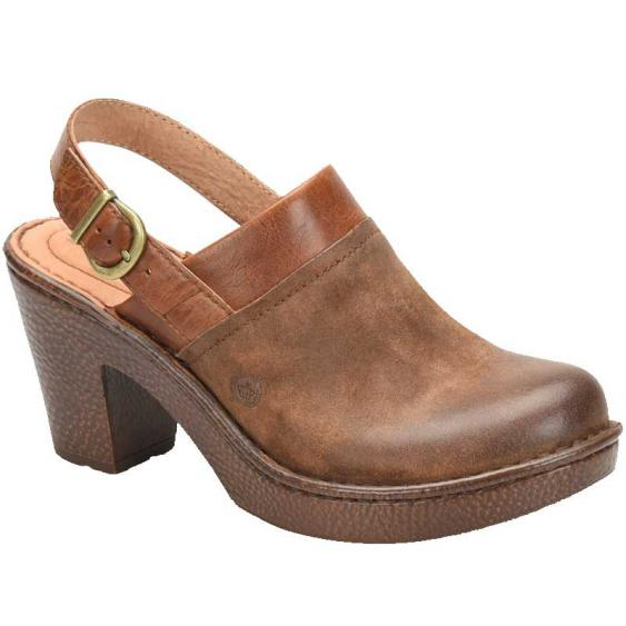 Born Vidar Brown Tan Combo F58506 (Women's)