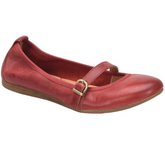Born Curlew Red Full Grain F61305 (Women's)