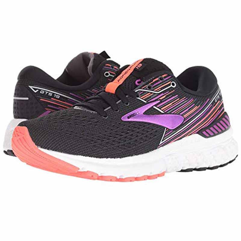 f3073626a26 Brooks Adrenaline GTS 19 Black   Purple 120284-080 (Women s). Loading zoom