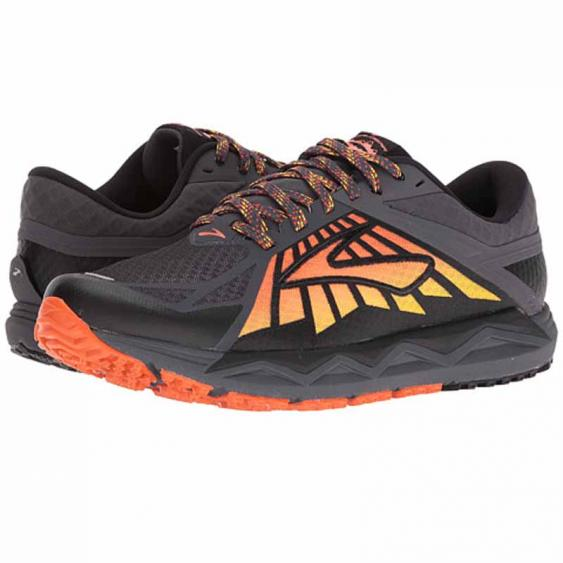 Brooks Caldera Anthracite / Red 110242-075 (Men's)