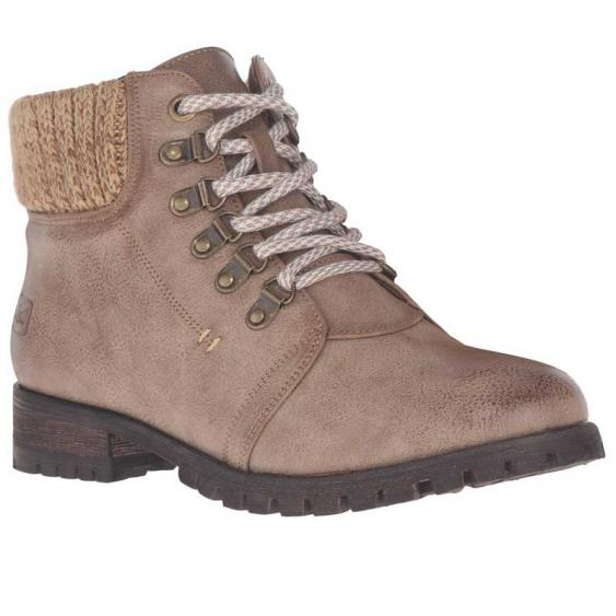 Dirty Laundry by Chinese Laundry Treble Lace-Up Taupe (Women's)