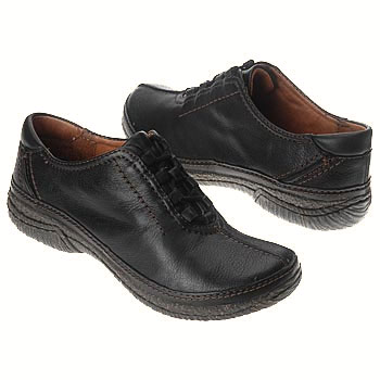 Clarks Dynamic Drive Black Leather 85179 (Women's)
