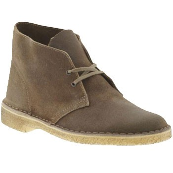 Clarks Desert Boot Taupe Distressed 26078354 (Men's)