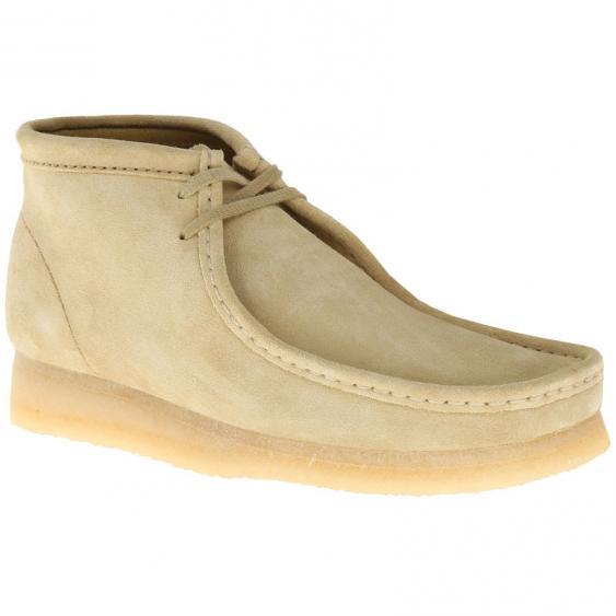 Clarks Wallabee Boot Maple Suede 26103811 (Men's)