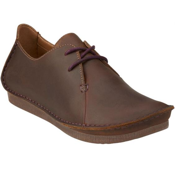 Clarks Janey Mae Beeswax Leather 26112617 (Women's)