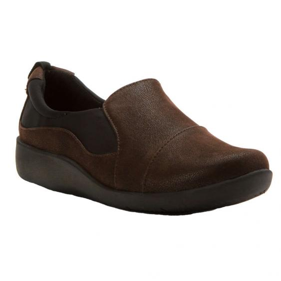 Clarks Sillian Paz Dark Brown 26120932 (Women's)