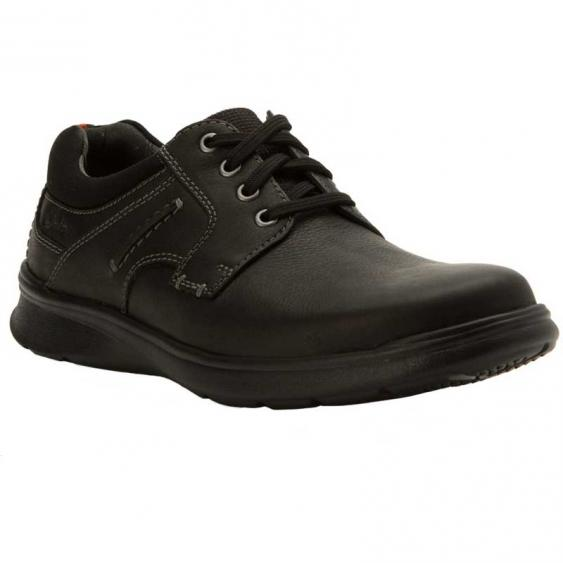 Clarks Cotrell Plain Black 26119806 (Men's)