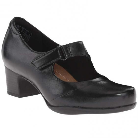 Clarks Rosalyn Wren Black 26110644 (Women's)