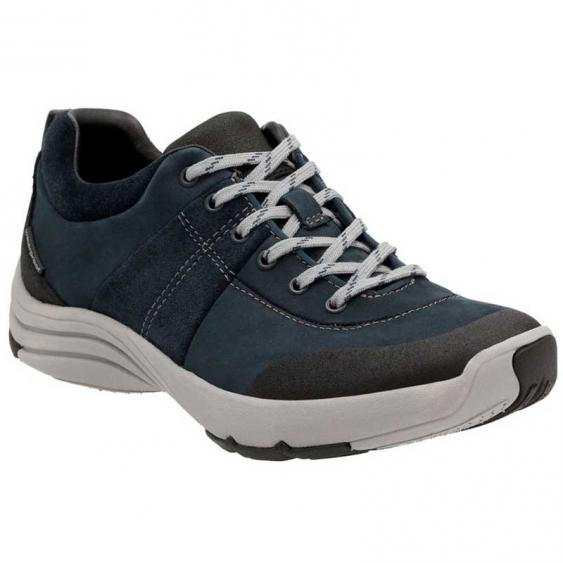 Clarks Wave Andes Navy 26125119 (Women's)