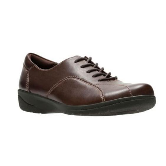 Clarks Cheyn Ava Dark Brown 26130144 (Women's)