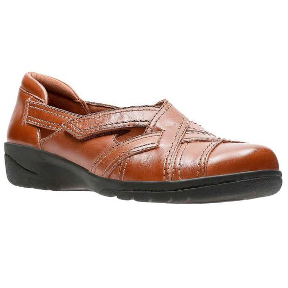 Clarks Cheyn Wale Dark Tan 26131448 (Women's)