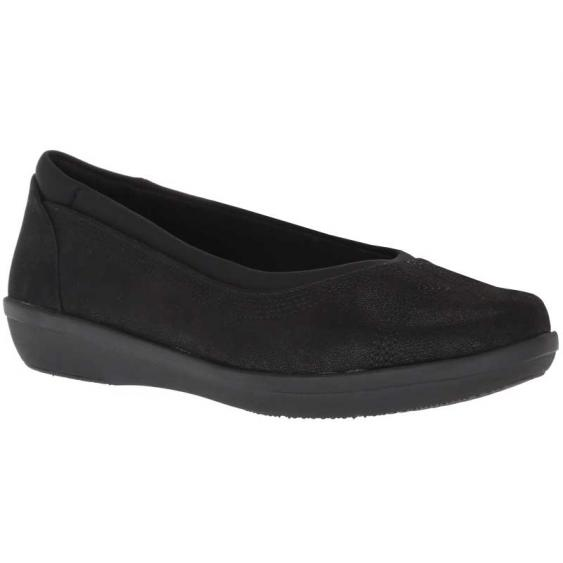 Clarks Ayla Low Black 26137787 (Women's)