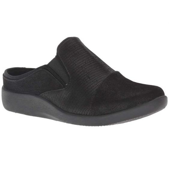 Clarks Sillian Free Black Combination 26138022 (Women's)