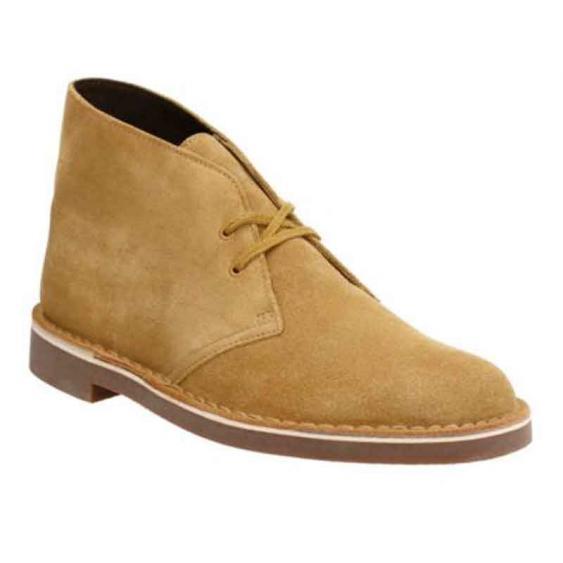 Clarks Bushacre 2 Wheat Suede 26117749 (Men's)