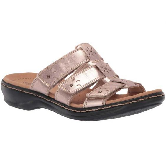 Clarks Leisa Spring Rose Gold 26135135 (Women's)