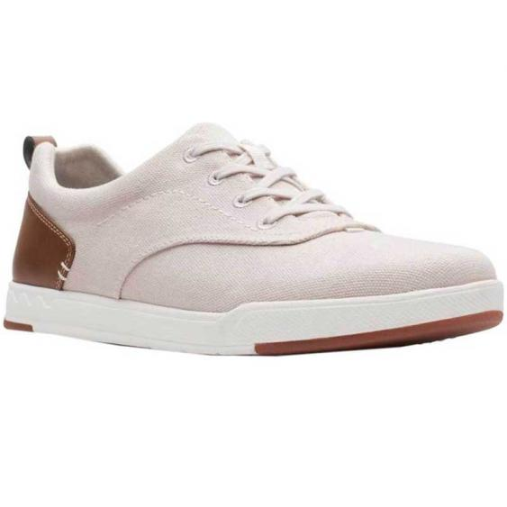 Clarks Step Isle Crew Off White 26142324 (Men's)