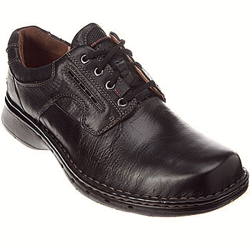 Clarks Unstructured Un.Ravel Black 26085015 (Men's)