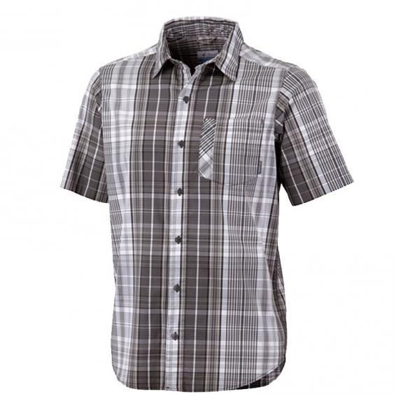 Columbia Decoy Rock SS Shirt Black Plaid AM1017-010 (Men's)