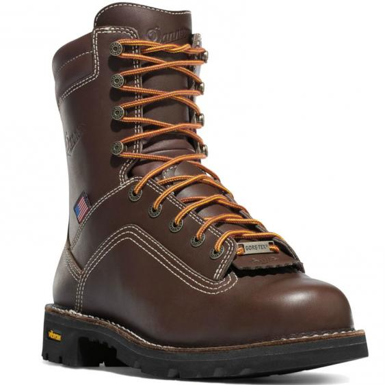 Danner Quarry USA Brown GTX Alloy Toe 17307 (Men's)