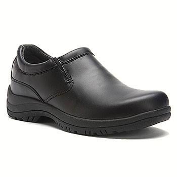 Dansko Wynn Black Smooth Leather 8701-020200 (Men's)