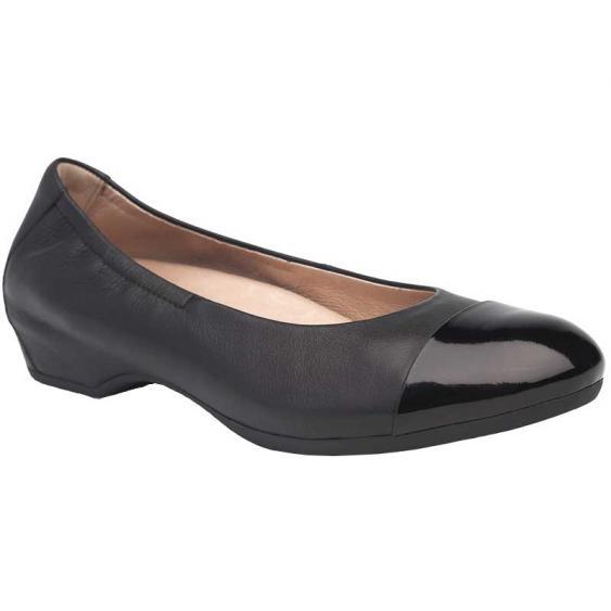 Dansko Lisanne Black Milled Nappa 5700-020218 (Women's)