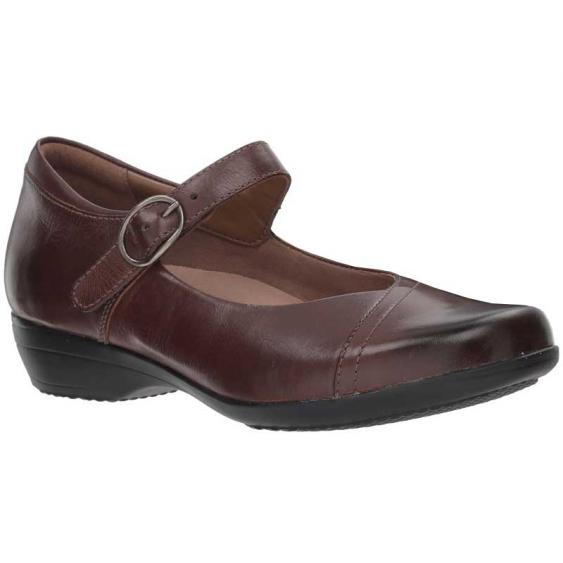 Dansko Fawna Chocolate Burnished 5501-230200 (Women's)