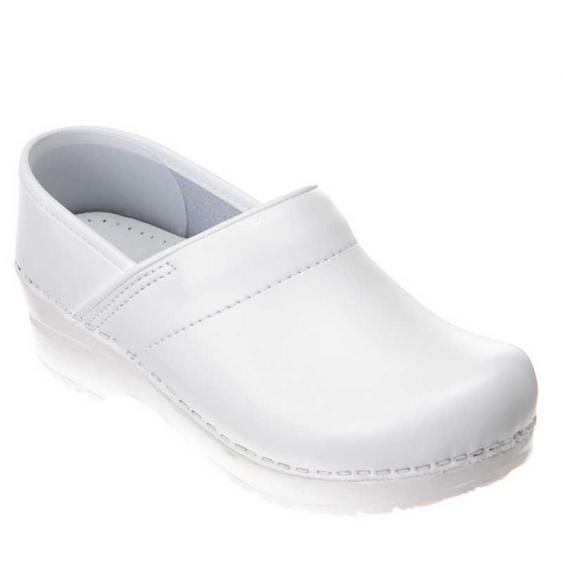 Dansko Professional Box White Leather 606-010101 (Women's)