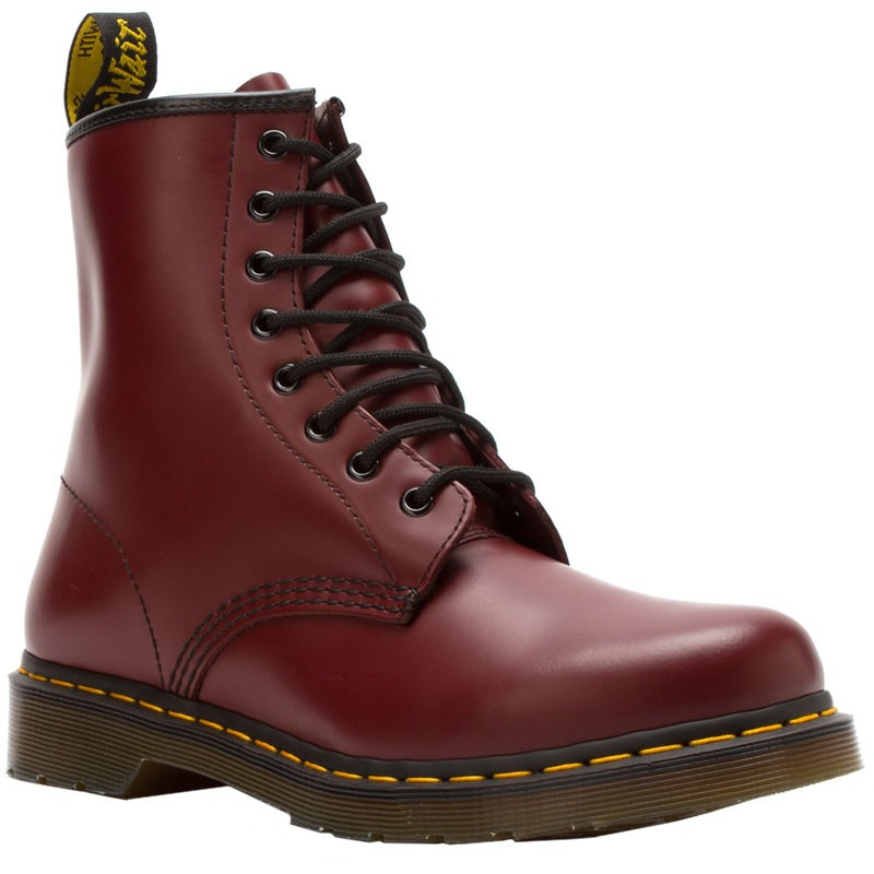 Dr Martens 1460 W Cherry Red Smooth Leather R11821600