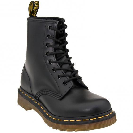 Dr. Martens 1460 W Black Smooth Leather R11821006 (Women's)