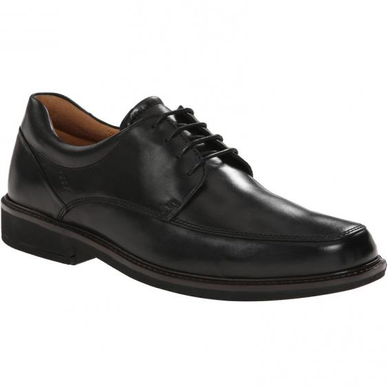 ECCO Holton Apron Toe Tie Black 621114-01001 (Men's)