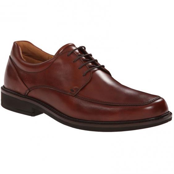 ECCO Holton Apron Toe Tie Cognac 621114-01053 (Men's)