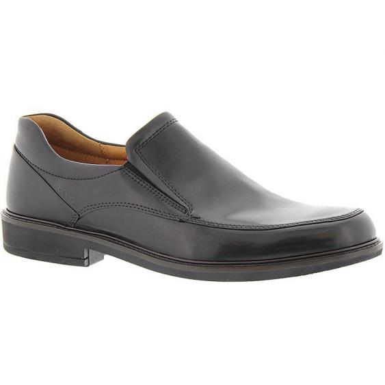 ECCO Holton Apron Toe Slip On Black 621124-01001 (Men's)