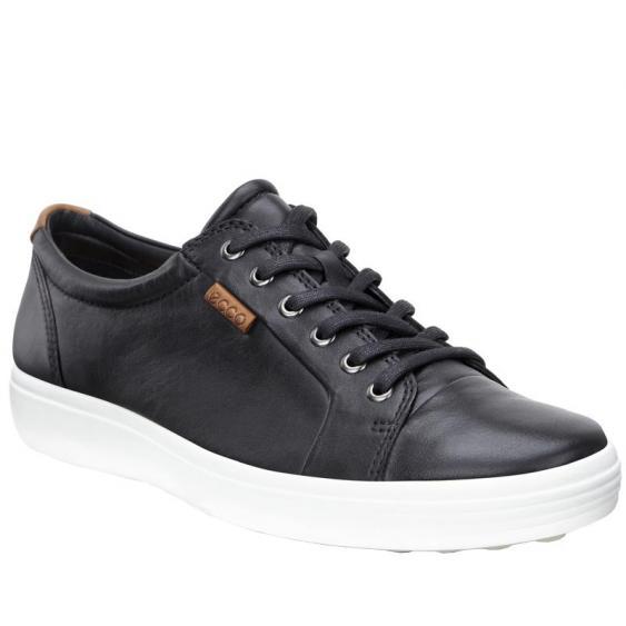 ECCO Soft 7 Sneaker Black 430004-01001 (Men's)