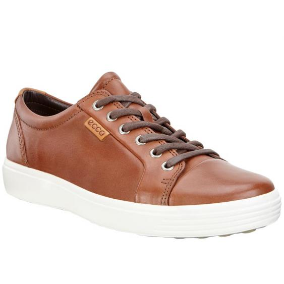 ECCO Soft 7 Sneaker Mahogany 430004-02195 (Men's)