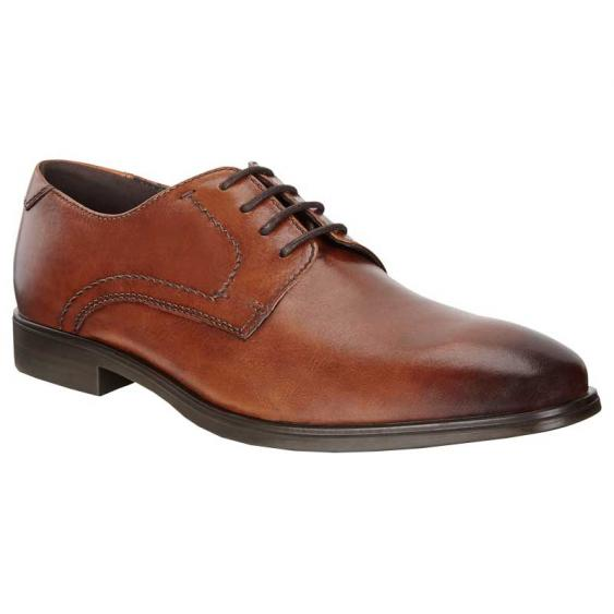 ECCO Melbourne Tie Amber 621634-01112 (Men's)