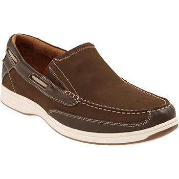 Florsheim Lakeside Slip Brown Nubuck 13158-200 (Men's)