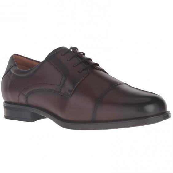 Florsheim Midtown Cap Toe Ox Brown Smooth 12138-200 (Men's)