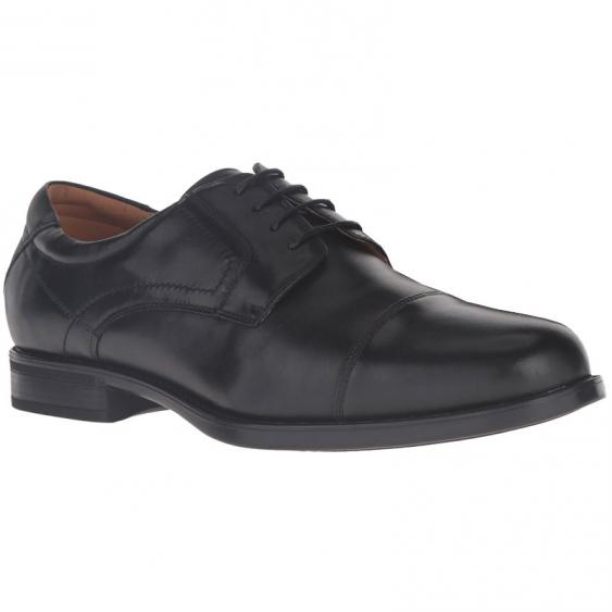 Florsheim Midtown Cap Toe Oxford Black Smooth 12138-001 (Men's)